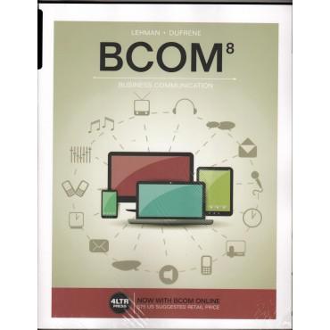 BCOM - Business Communication 8e