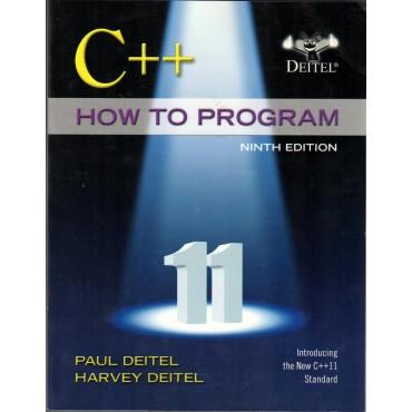 C++ How to program  9E