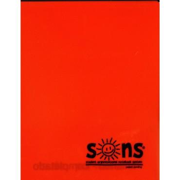 Orange Folder Plastic - Sons