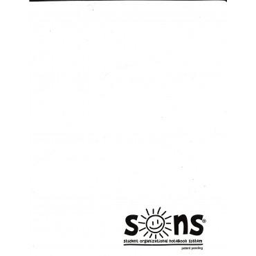 White Folder Plastic - Sons