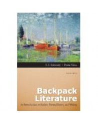 ENGL 3350 Backpack Literature: An Introduction to Fiction, Poetry, Drama, and Writing.