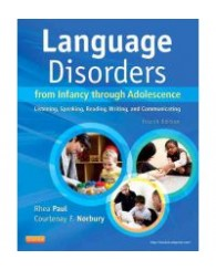 SPTH3000LANGUAGE DISORDERS FROM INFANCY THROUGH ADOLESCENCE 4TH
