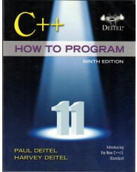 C++ How to program  9E
