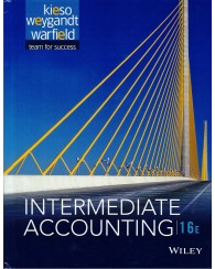 Intermediate Accounting 16e