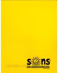 Yellow Folder Plastic - Sons