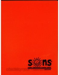 Orange Folder Plastic - Sons