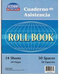 CUADERNO DE ASISTENCIA - ROLL BOOK